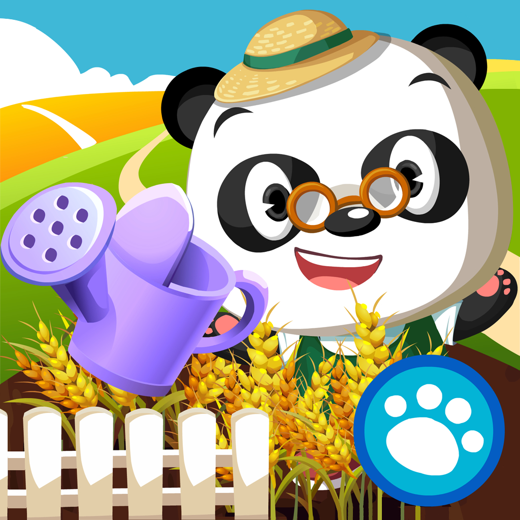 Dr. Panda's Veggie Garden by Dr. Panda   Review & Giveaway